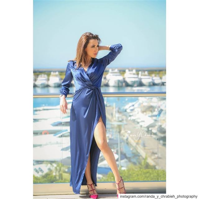 💙💙💙  summervibes  blue💙  fashionista  randaychrabiehphotography ... (Waterfront City)