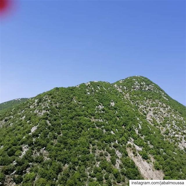 نحيطكم علماً ان طريق عام يحشوش - العبره وشوان، في محلة نهر يحشوش سوف تقفل ا (Jabal Moussa Biosphere Reserve)