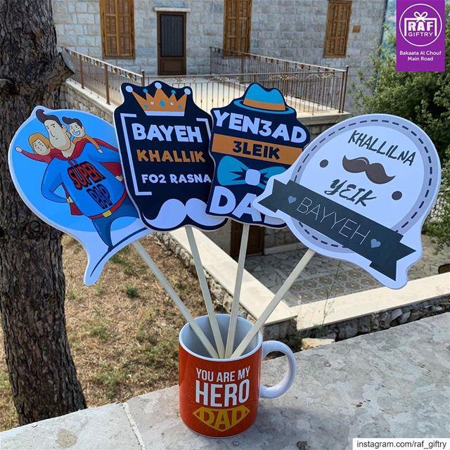 Yen3ad 3leik DAD 👨🏻 raf_giftry........... happyfathersday ... (Raf Giftry)