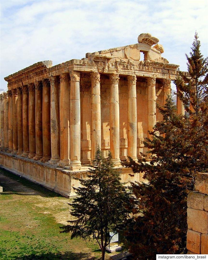 🇱🇧🇧🇷 Nunca é demais contemplar a beleza e a grandiosidade das antigas... (Baalbek, Lebanon)