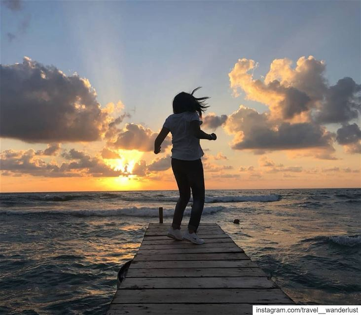 Chasing the sun.--- TakeMeTo Lebanon Damour Beirut sunset ... (Damour, Lebanon)