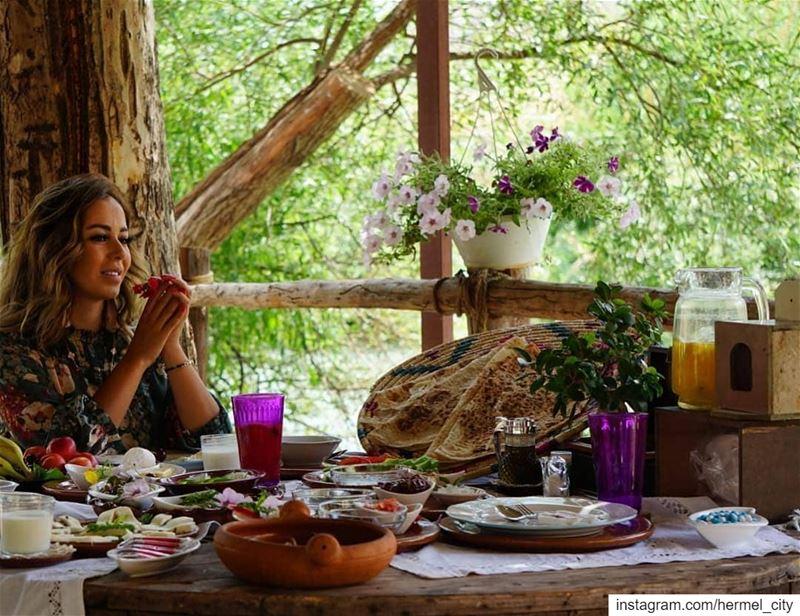 Catch the good vibes ... good morning!Photo by @aya_haddad1 assiriver ... (Al Assi River-Hermel, Lebanon)