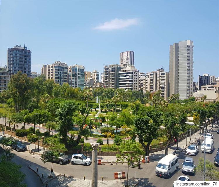 My Beirut❤بيروتي أنا❤ ig_respect ig_lebanon ptk_lebanon ... (Sanayeh Park)