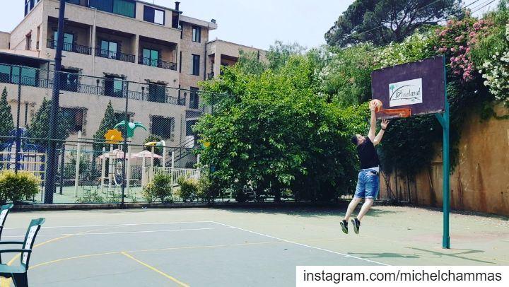 Lebanon Hammana Basketball Dunk NBA ILoveThisGame SlamDunk ... (Pineland Hotel & Health Resort)