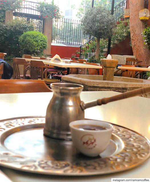 فنجان قهوة معك بيسوى الدنيا كلها.. ramramcoffee turkishcoffee ...