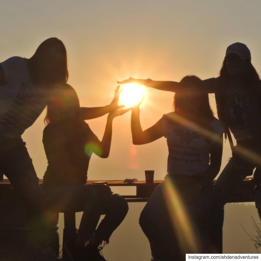 sunset catchingthesun holdingthesun ehden lebanon ehdenadventures ... (Ehden Adventures)