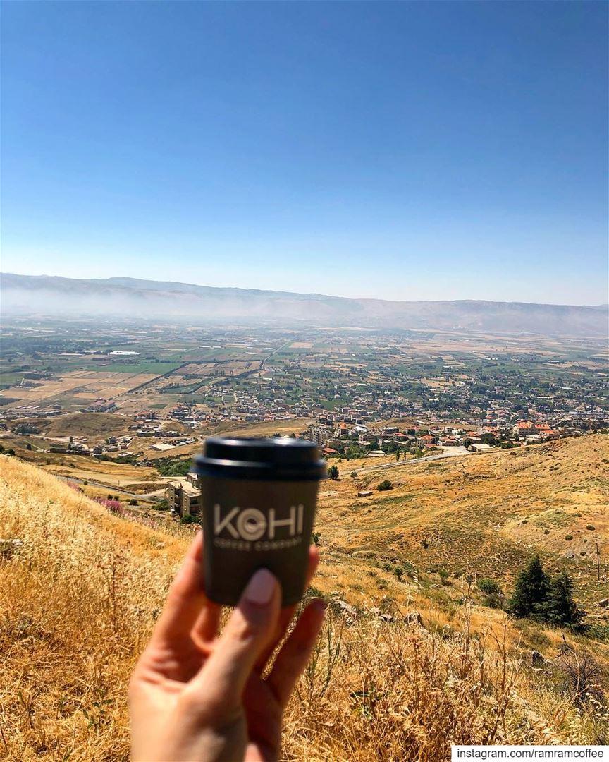 نفرح اذا تخيلنا لقاء من نحب،، فكيف اذا التقينا... ramramcoffee ... (West Bekaa)