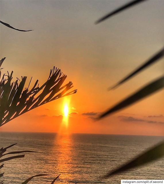 Collect beautiful Moments... sunset beirut lebanon picoftheday ... (Beirut, Lebanon)