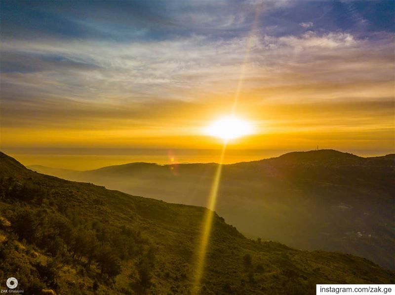 Ray? Is that you? sun lebanon leb nature rayoflight middleeast ... (Lebanon)