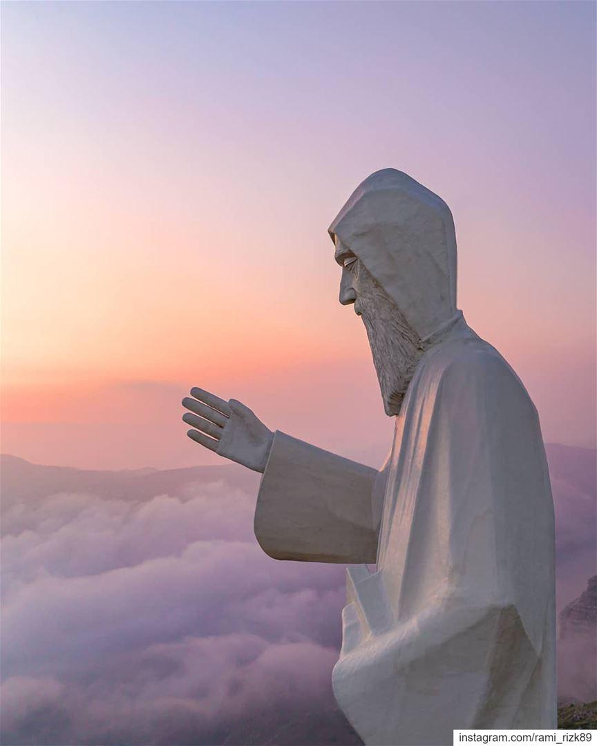 Close to Heaven ☁️... faraya lebanon saintcharbel dji djiglobal ... (Saint Charbel-Faraya)