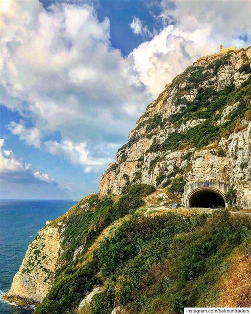 batroun hamat tunnel searoad البترون_سفرة mediterranean sea ... (Hamat)