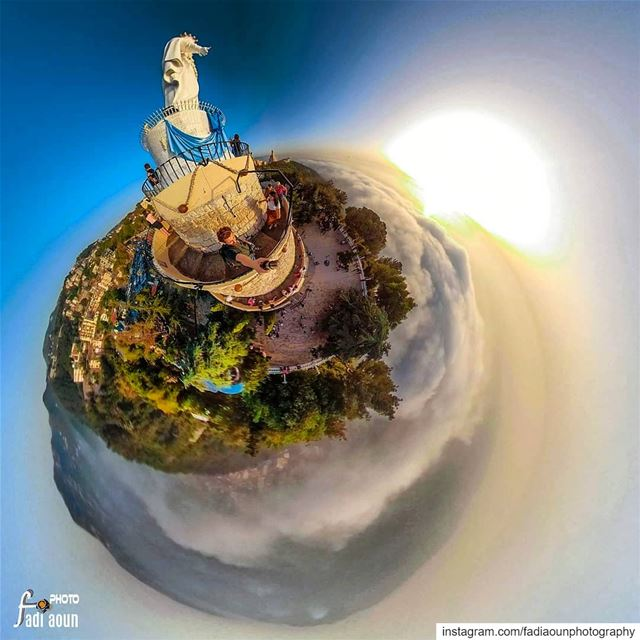 Harissa Above clouds 3d like never seen before photo ...