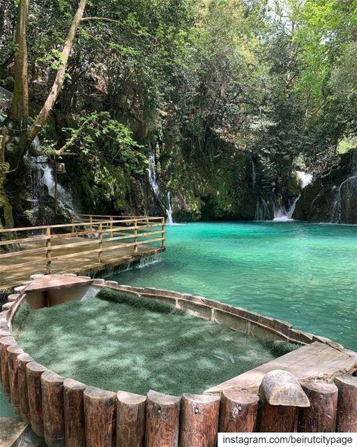 شلالات الزرقاء, بعقلين Blue Waterfalls Baakline beirut jounieh byblos ...
