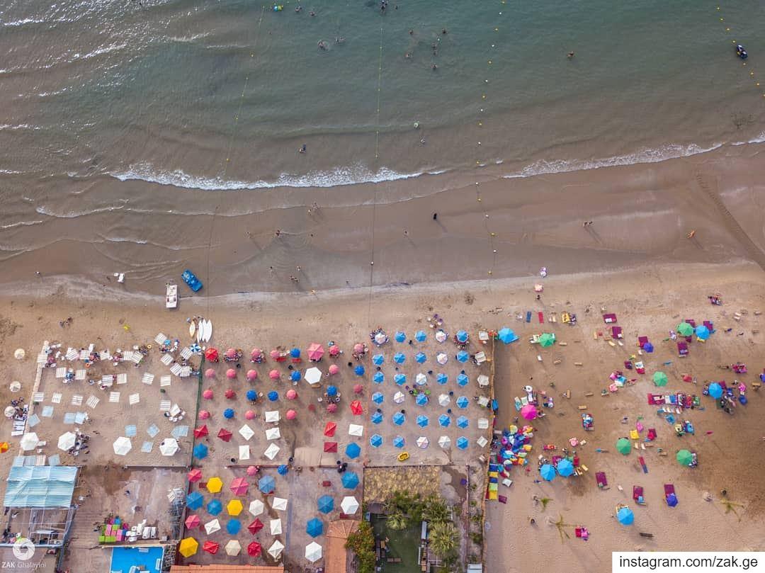 Colored parasol vibes lifeofadventure lebanon leb exploretocreate ... (Lebanon)