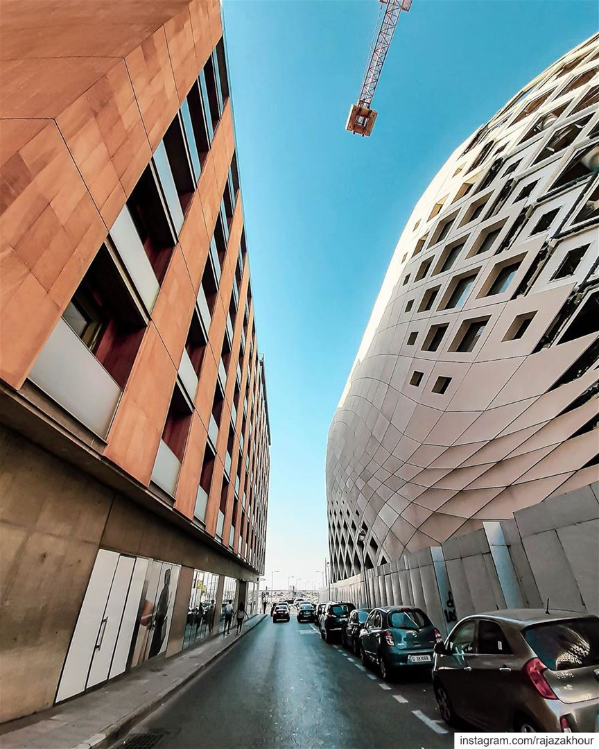 Perspective .  beirut lebanon...... livelovearchitecture ... (Beirut Souks)
