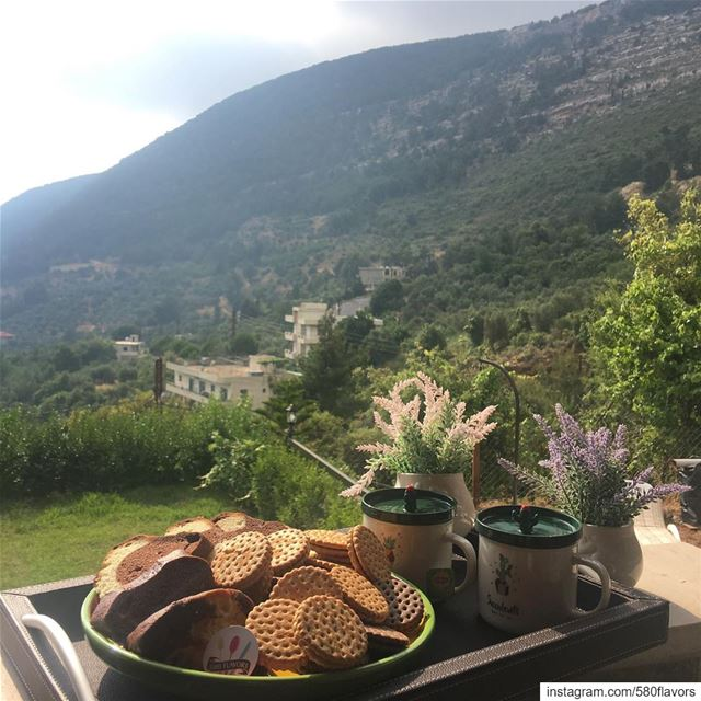 A perfect start 🌟🌟 serhel zgharta chezlessemaan ... 580flavors ... (Seraaïl, Liban-Nord, Lebanon)
