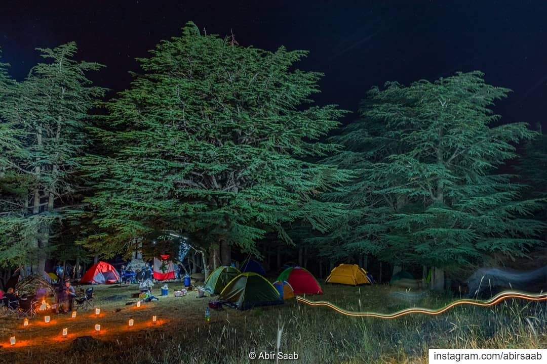 What can be better than spending the weekend camping under the beautiful... (Hadath Al Jubbah, Liban-Nord, Lebanon)