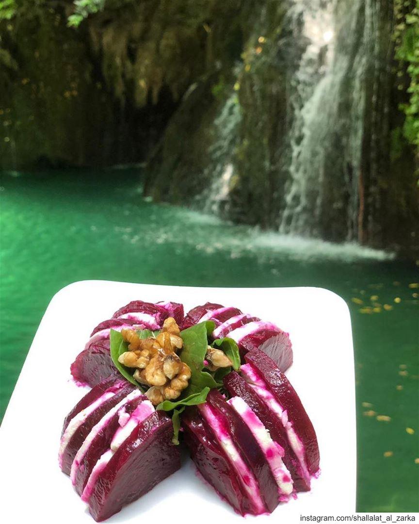 Have you tried our specialty dish ?.. roadtrip lebanonroadtrip ... (Baakline, Mont-Liban, Lebanon)