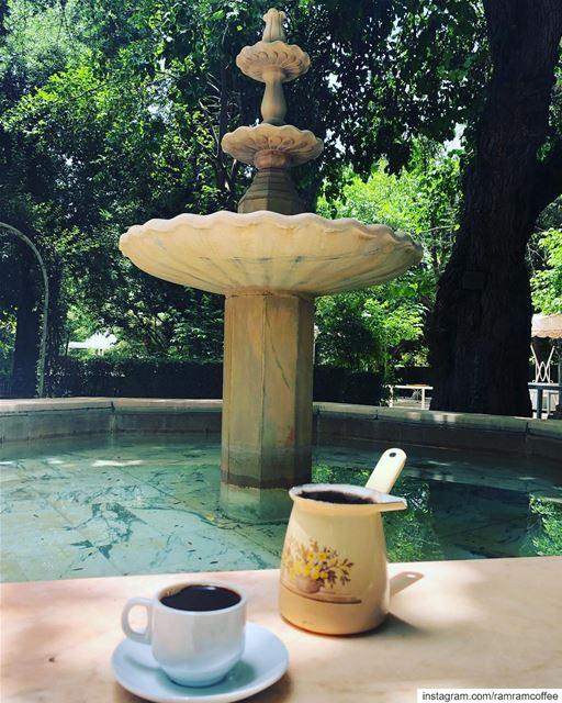 لان السعادة جداً بسيطة اجدها في كوب قهوتي صباحكم_سعاده.. ramramcoffee...