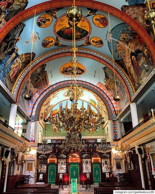 Take me to church ...⛪️ architecture church interior design ... (Achrafieh, Lebanon)