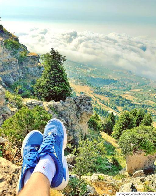 I live in Lebanon, I work in Lebanon, I love Lebanon, I want peace in... (El Qammoûaa)