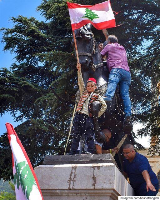 فلأضحّ أنا وليَعش لبنان - يوسف بك كرم ... (Ehden, Lebanon)