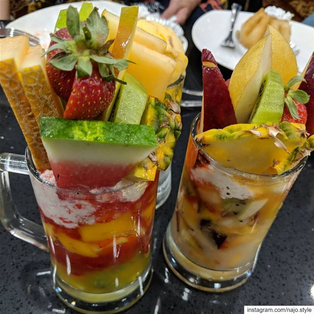 coktailfruits  freshfruits  sweet  yummy  delicious  food  lebanon ...