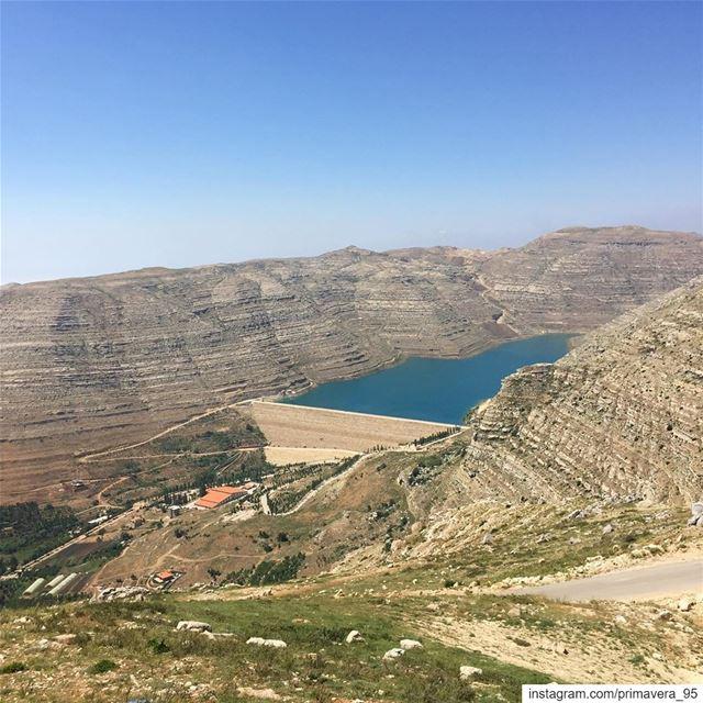 lebanon_ig livelovelebanon lebanon_hdr instapic faraya dam ... (Chabrouh Dam)