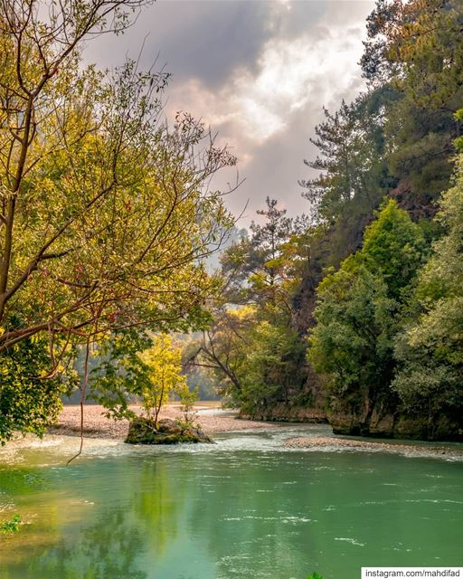 Lebanon chouwen lake pysglb mountains landscape nature photography igers... (Chouène, Mont-Liban, Lebanon)