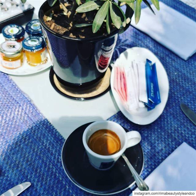 Good morning from @rotanalebanon coffee time gardendesign olivegarden ... (Rotana Hotels Lebanon)