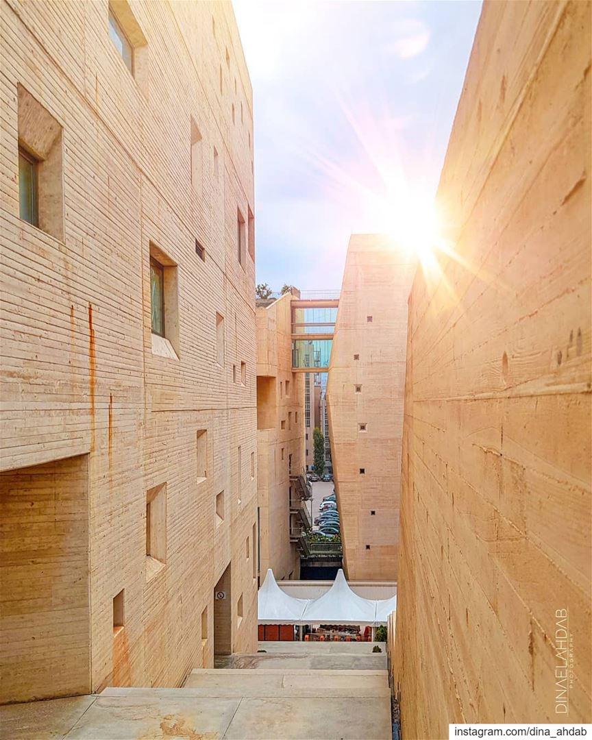 Méditez sur la lumière 🔦___________________________ lebanon ... (Campus de l'Innovation et du Sport - USJ)