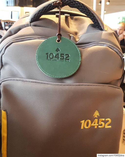 Spotted at @lebanonairport  10452dna  backpack  quality  lebanon... (Beirut–Rafic Hariri International Airport)