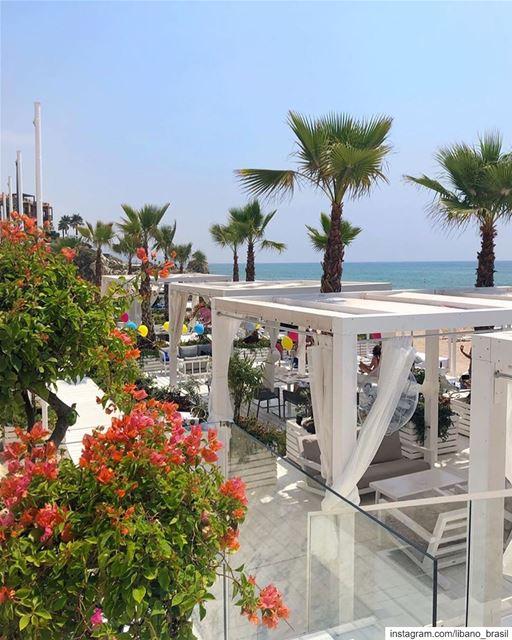 🇱🇧🇧🇷 Na dúvida de onde curtir o verão pelo mundo? A cidade de Byblos... (L Beach)