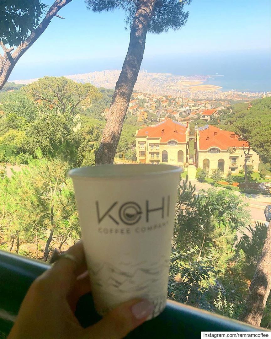 قهوتي هي حياة تتسرب الى اوردتيي ليتعدل مزاجي.. ramramcoffee ... (Brummana)