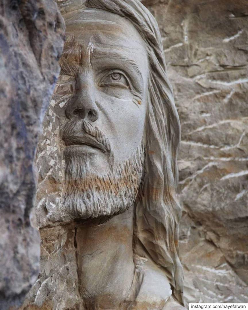 يسوع في بستان الزيتونقرية السلام النموذجية - الجماعة الرهبانية رسالة حياة، (Baskinta, Lebanon)