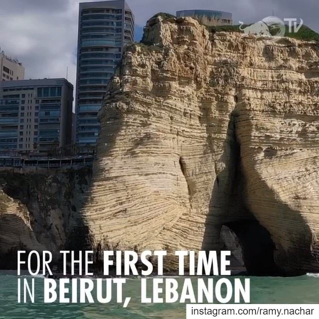 The @RedBullCliffDiving athletes are in for a new adventure as they get... (Beirut, Lebanon)