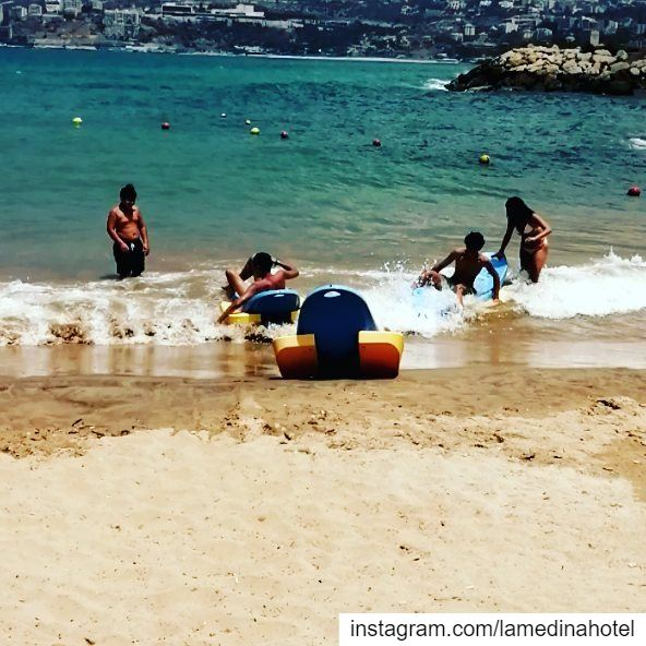 Fun in the sun 🌞😎 LamedinaBeach LamedinaHotel LamedinaResort Jounieh... (Joünié)