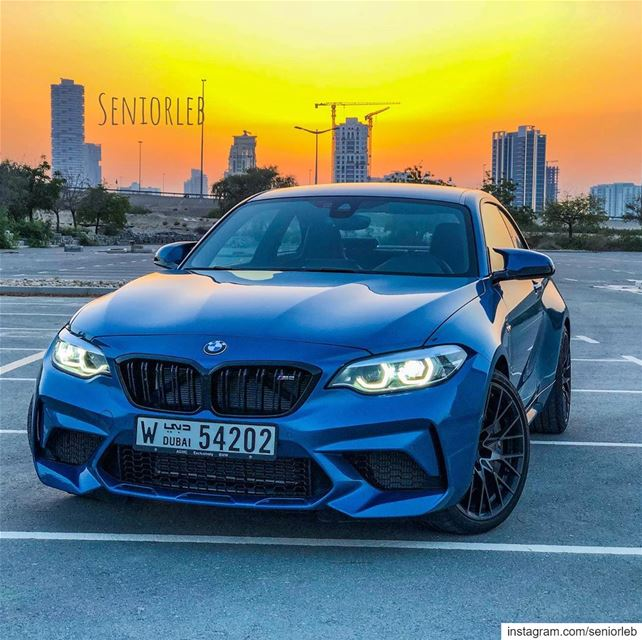 My second BMW M2 LCI Competition Package 🔵🔴Ⓜ️ Vidéo will be uploaded... (Dubai, United Arab Emirates)