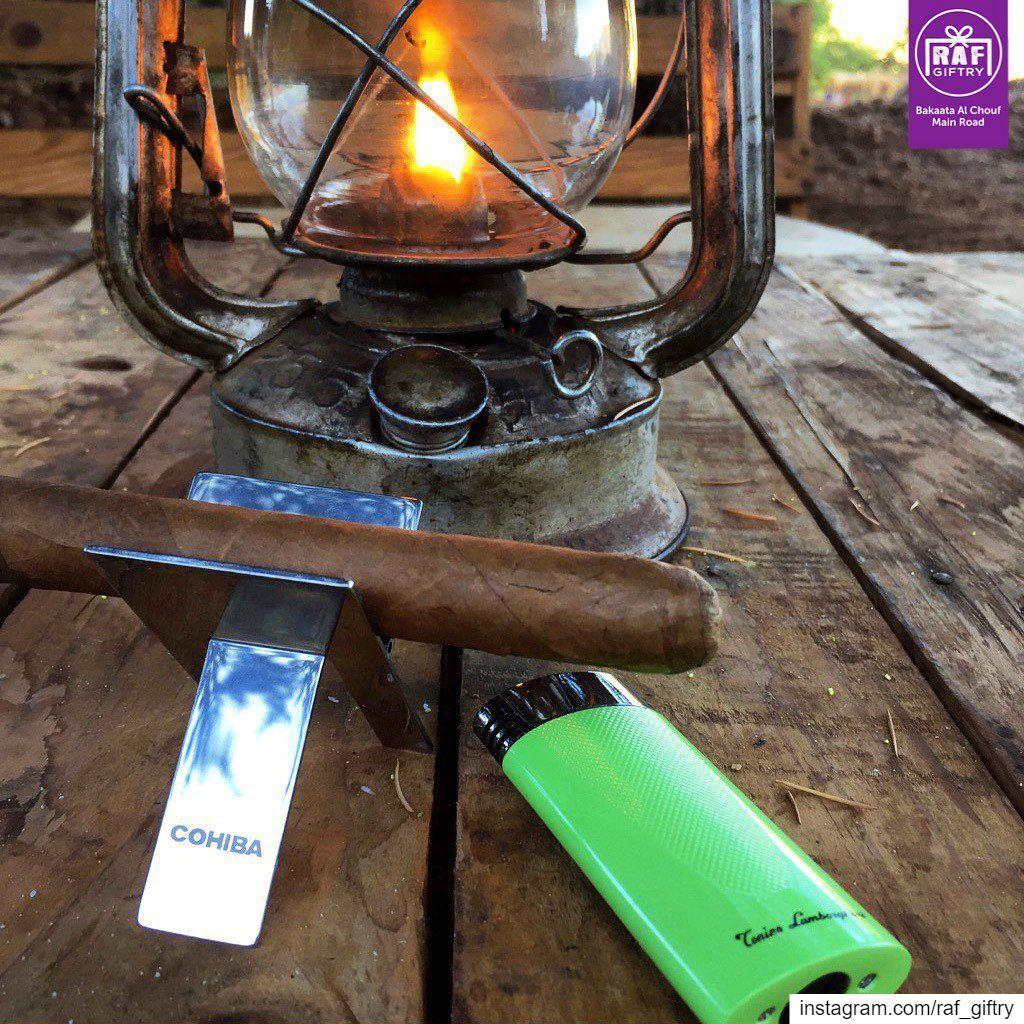 Weekend vibes 🏕 raf_giftry.......... camping cigar ... (Raf Giftry)
