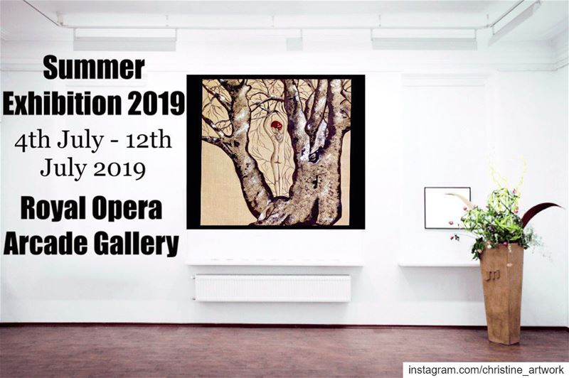Exhibition is on till the 12th July 2019you got to see the artwork in...