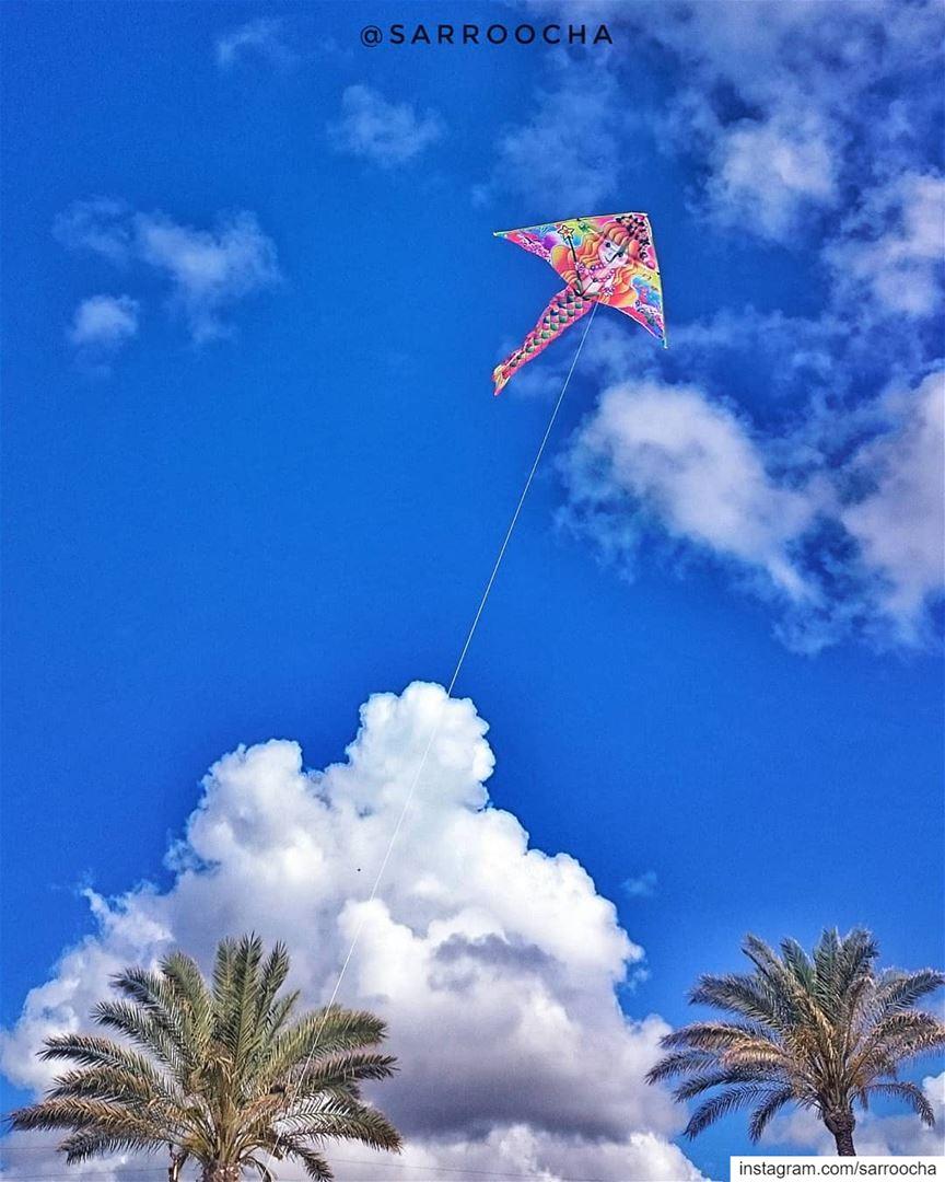 Fly high ☁ takenbyme ptk_Lebanon visitlebanon Lebanonbyalocal ... (Tyre, Lebanon)