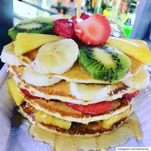 Pancake obsessed 🤤🤤... samarula morning pancakes breakfast yummy... (Cedars of God)