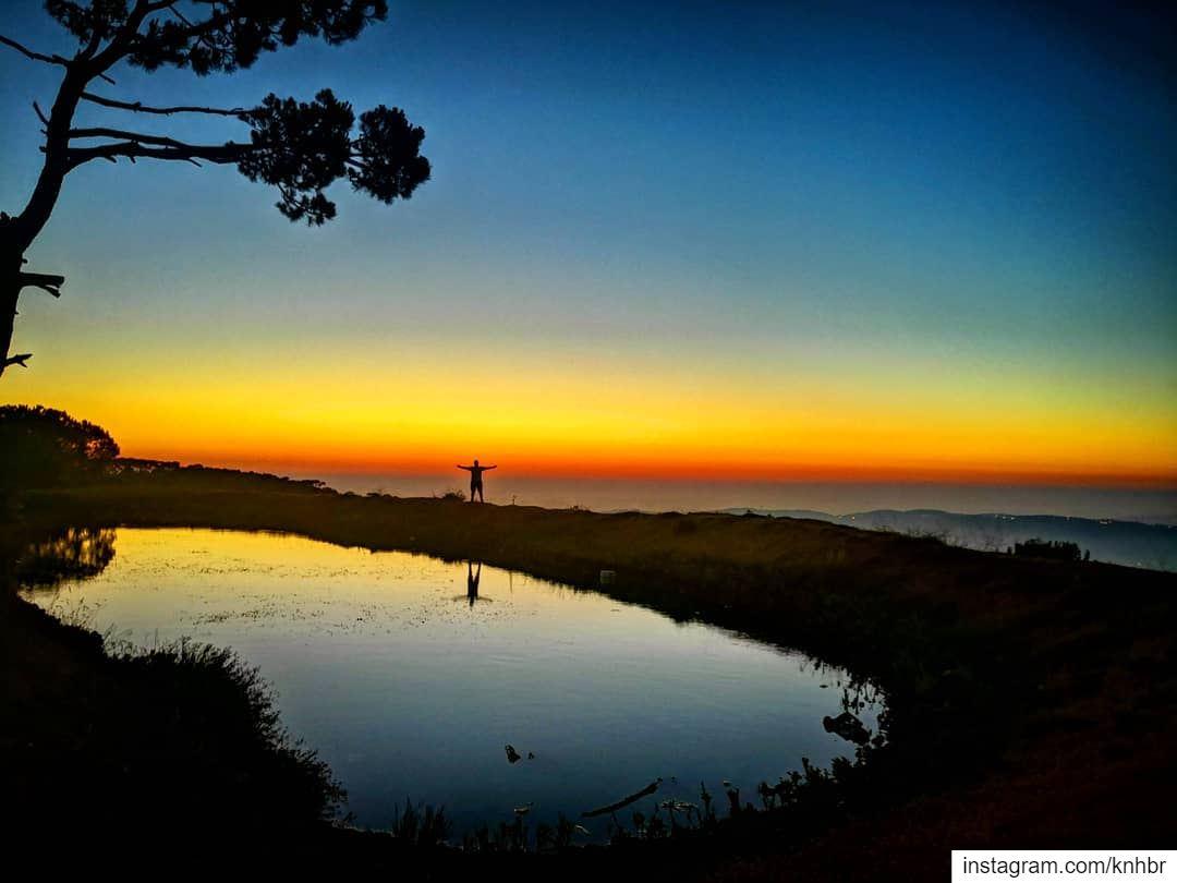 sunset sunsetlover insta_lebanon livelovelebanon livelovefalougha ...