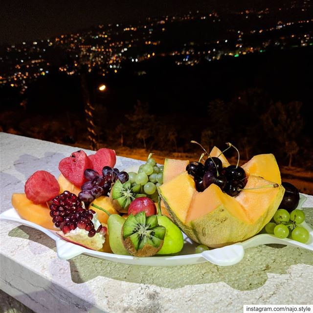 fruits  yummy  cantaloupe  watermelon🍉  cherry🍒  pears  grapes🍇  kiwi ...