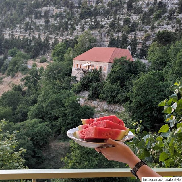 ehden lebanon lebanese watermelon🍉 yummy delicious summer food ...