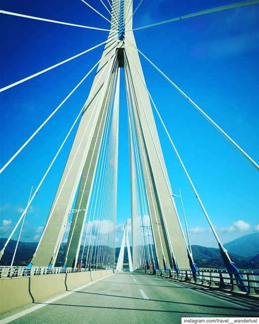 Not all bridges are to be crossed.--- Passion Love quotes ... (Rio -Antirio Bridge)