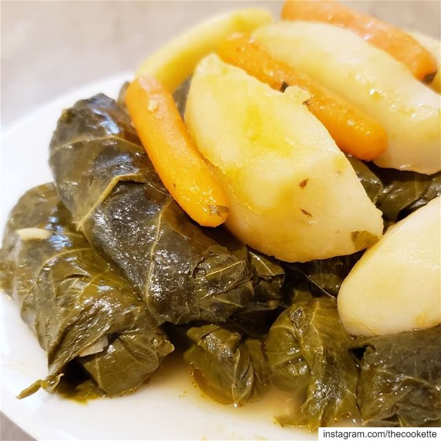 Vegetable Stuffed Vine Leaves🌸Step by step pictures and a video on how... (Greater Montreal)
