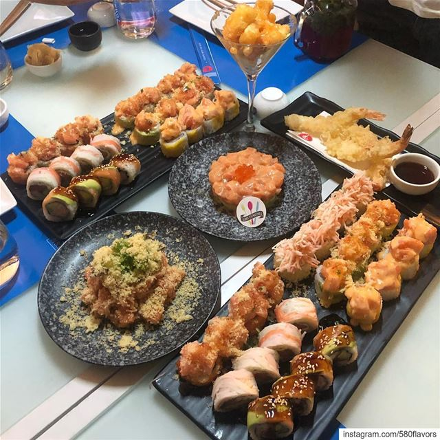 Sushi night today 😍😍 @kamisushi_byblos byblos jbeil ... 580flavors ... (Byblos Sud Village)