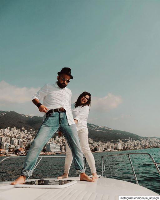 Holaaa yacht sun lebanon beach sea sail blue ig_lebanon igers ... (Joünié)