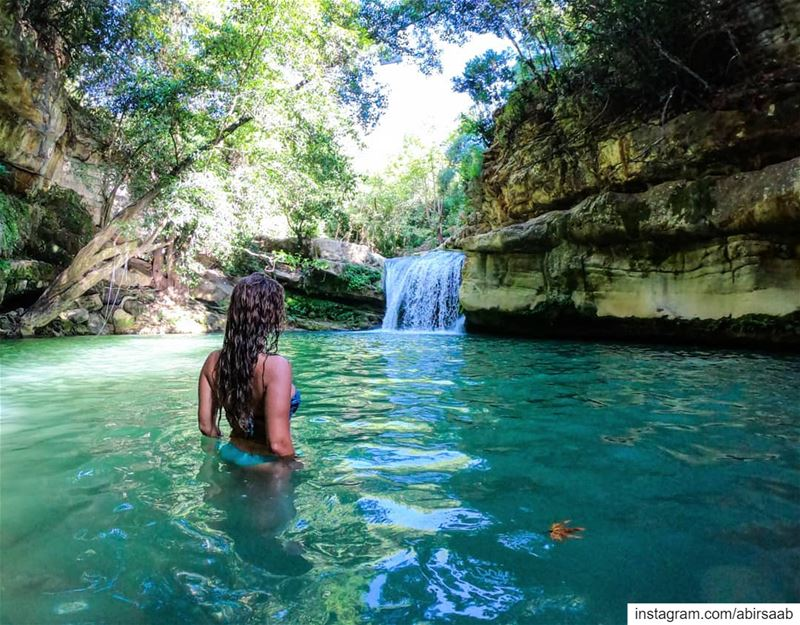 The Chouf district has many hidden gems & Serjbel waterfall is a prime... (Serjbel)